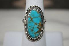 Basalt Mine Turquoise Ring - R300 - SOLD