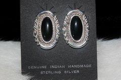 Black Onyx Earrings - ER122