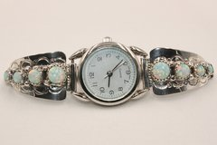 Ladies 8 Stone Opal Watch - W3401