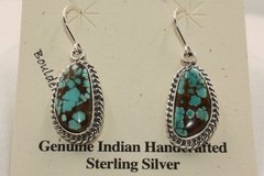 Boulder Turquoise Earrings - BL5205 - SOLD