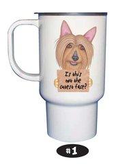 Australian Silky Terrier Travel Mug with Lid