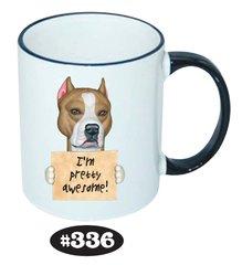 Staffordshire Terrier Ceramic Mug 11oz