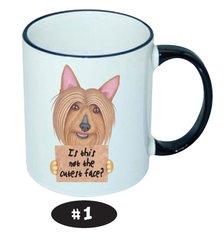 Australian Silky Terrier Ceramic Mug 11 oz