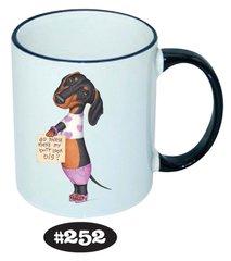 Dachshund Even More Styles Ceramic Mugs 11 oz
