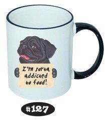 Pug Ceramic Mug 11oz