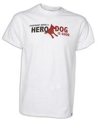 Dog is Good Men's T-shirt Hero Dog
