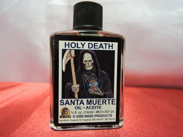 Santa Muerte Negra - Holy Death Black