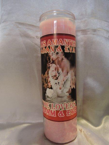 Los Amantes Adan & Eva - The Lovers Candle Adam & Eve