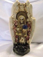Santa Muerte Mano Blanca - Holy Death White Hand