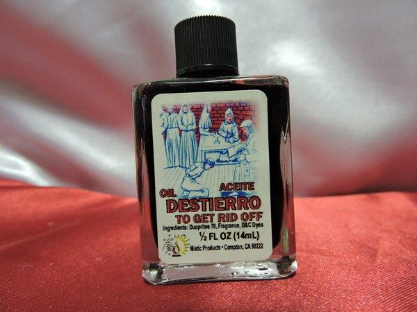 Destierro Aceite 1/2 oz - Exile 1/2 oz oil