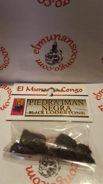 Piedra Iman Negra - Black Lodestone
