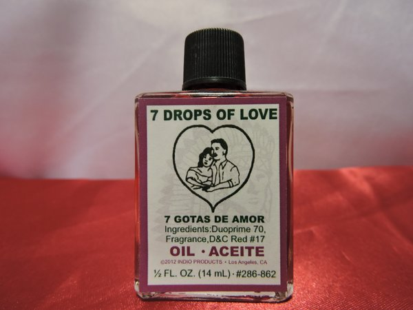 Siete Gotas De Amor - Seven Drops Of Love