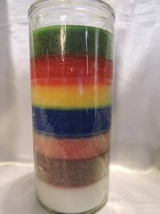 Siete Colores 14 Dias veladora - Seven Colors 14 Day's Candle