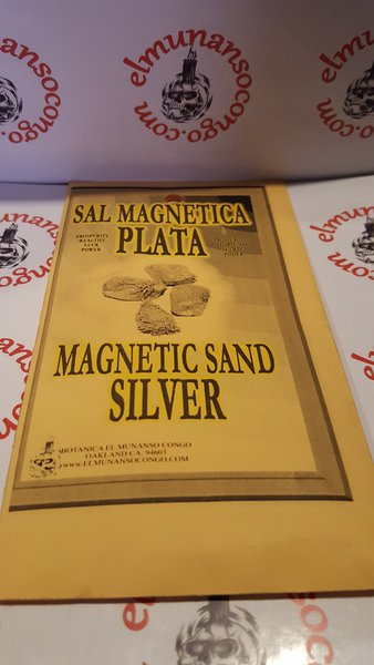 Sal Magnetica Plata - Magnetic Sand Silver
