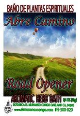Abre Camino - Road Opener Baño de plantas espirituales