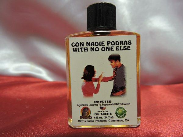 Con Nadien Mas Podras - With No One Else