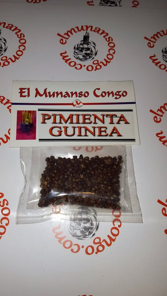 Pimienta Guinea - Guinea Pepper