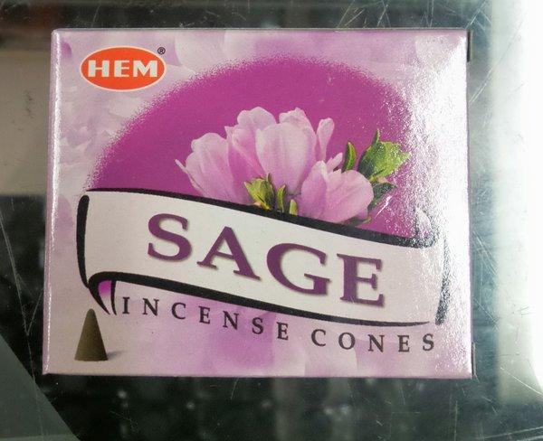 Incienso de Cono Sage