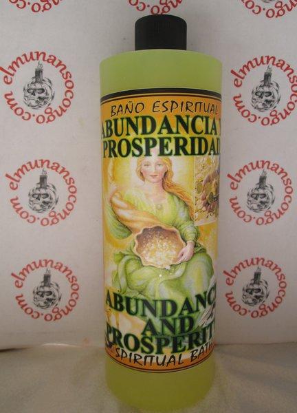 Abundancia y Prosperidad Baño Espiritual -  Abundance and Prosperity Spiritual Bath
