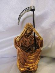 Santa Muerte Bronce No Ver - Bronze Holy Death See No Evil