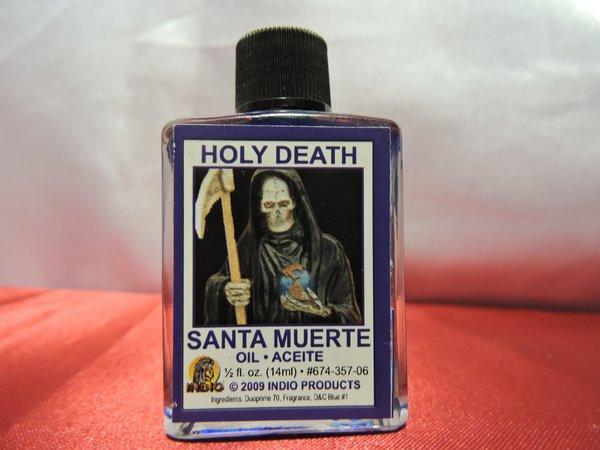 Santa Muerte Azul - Holy Death Blue