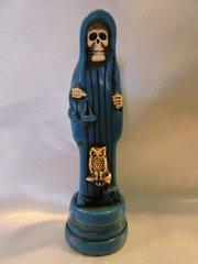 Santa Muerte Azul - Blue Holy Death