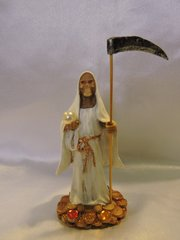 Santa Muerte Blana - White Holy Death
