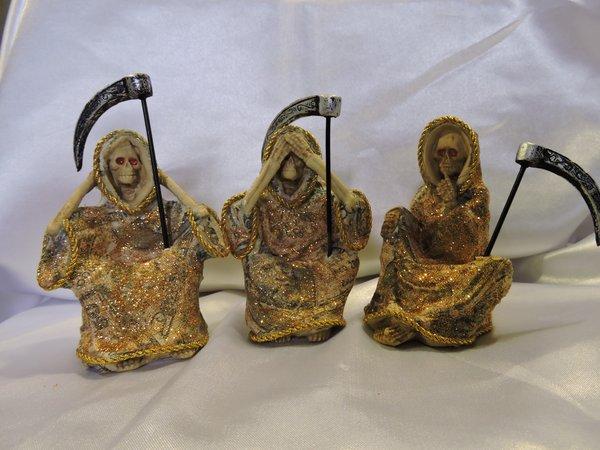 Santa Muerte No Ver, No Hablar, y No Escuchar De Dinero - Holy Death Of Money See No Evil, Hear No Evil & Speak No Evil