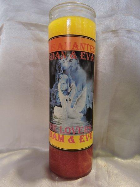 Los Amantes Adan & Eva - Lovers Candle Adam & Eve