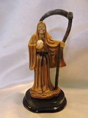 Santa Muerte Dorada - Gold Holy Death