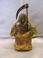 Santa Muerte No Escuchar De Dinero - Money Holy Death Hear No Evil