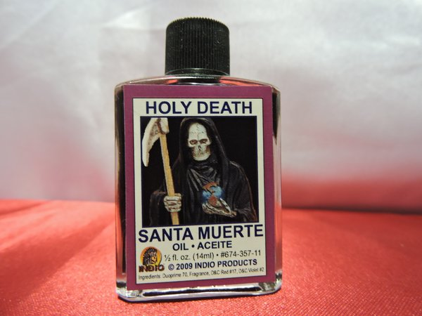 Santa Muerte Morada - Holy Death Purple