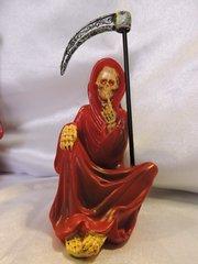 Santa Muerte Roja No Hablar - Red Holy Death Speak No Evil