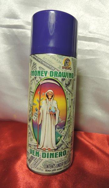 Santa Muerte Ven Dinero- Holly Death Money Drawing