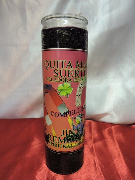 Quita Mala Suerte Roja/Negra - Jinx Remover Red/Black