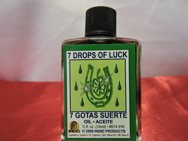 Siete Gotas De Suerte - Seven Drops Of Luck