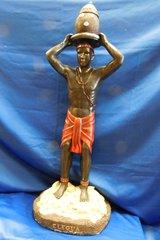 Elegua statue 32 inch.