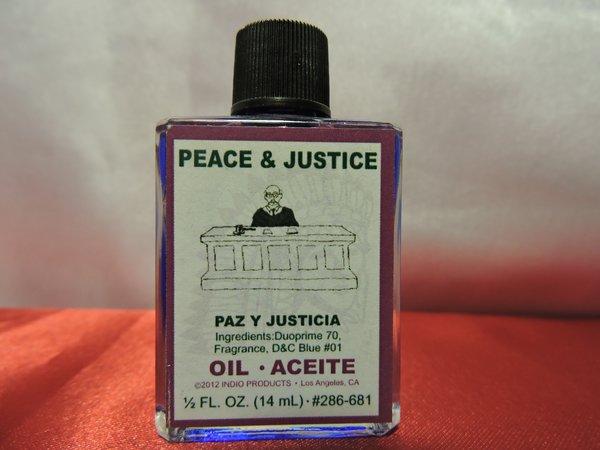 Paz & Justicia - Peace & Justice