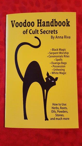 Voodoo Handbook of cult Secrets book