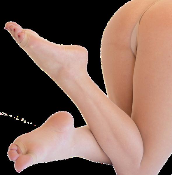 Sheer to waist sandal toe pantyhose