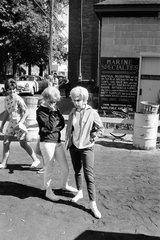 Al Kaplan: Outside Marine Specialties, Commercial Street, September 1963