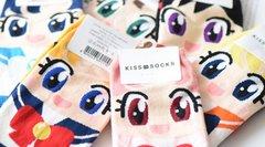 Sailor Moon Socks(multi colors)