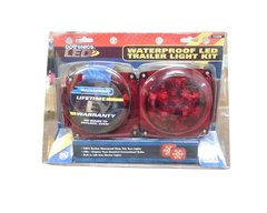 Optronics Waterproof LED Trailer Light Kit w/ Harness, Bracket & Hardware