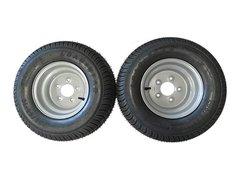 20.5 X 8 - 10 (205/65-10) Snowmobile trailer tire & wheel (1 pair)- TRITON, R&R, NORTHBOUND