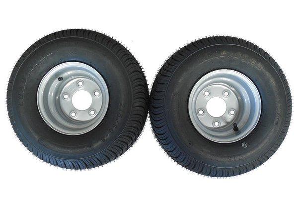 18.5 X 8.5 - 8 (215/60-8) Snowmobile trailer tire & wheel (1 PAIR)- TRITON, R&R, NORTHBOUND