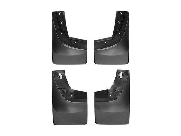 WeatherTech No-Drill MudFlaps, 14-15 Chevrolet Silverado No Flares, Front/Rear Pair