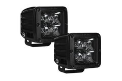 Rigid Industries D-Series Midnight Edition, 1 Pair