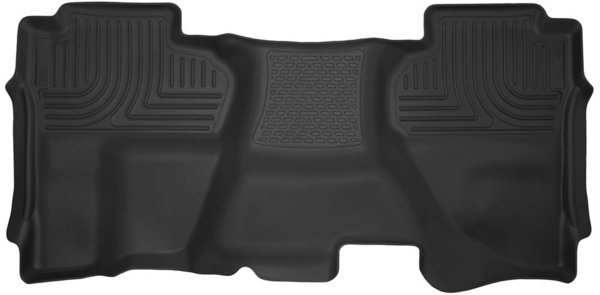 Husky Liners X-Act Contour Rear Floor Liners, FULL COVERAGE 14+ Chevy / GMC Double Cab