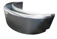 Aluminum 9 X 32 (PAIR) single axle fenders