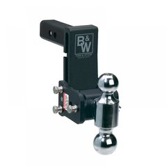 "B&W Tow & Stow Dual-Ball 5"" Drop Model 8 TS10037B"